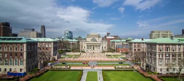 GRE Scores for Columbia University