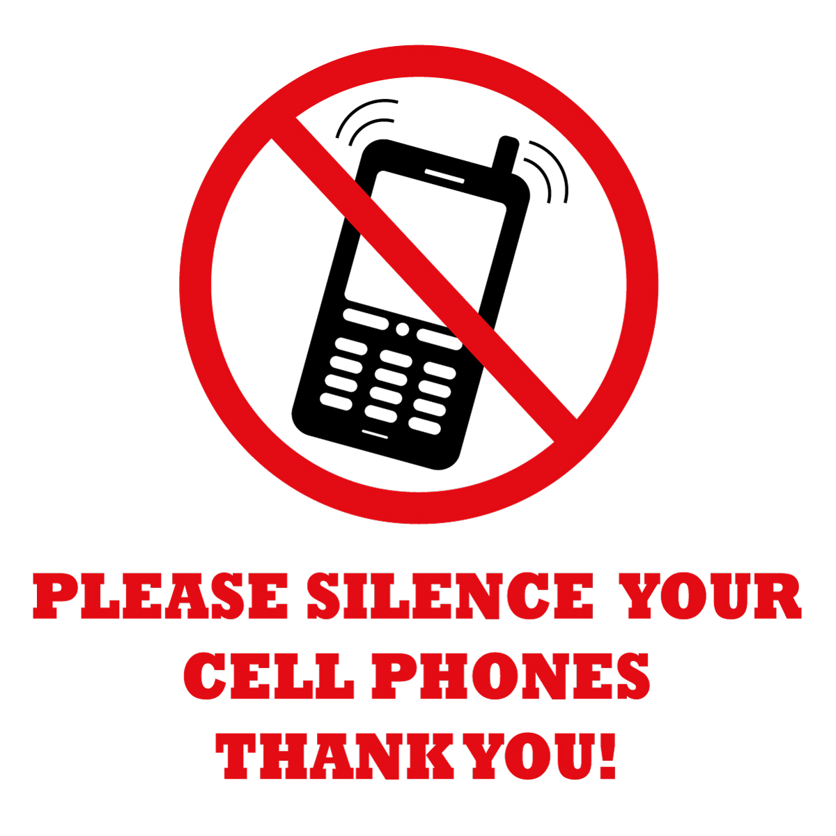cellphone silence