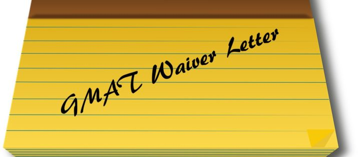 How to Draft the Perfect GMAT Waiver Letter?