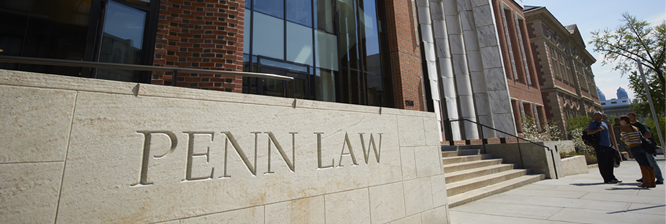 LSAT Scores for University of Pennsylvania Law School
