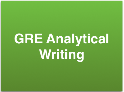 gre analytical writing tutor This gre test prep course prepares students for the analytical writing, verbal reasoning, and quantitative reasoning sections of the exam hi, my name is vince kotchian, and welcome to test prep: gre i've been a full-time tutor for eight years now, and i work with gre clients almost every day.